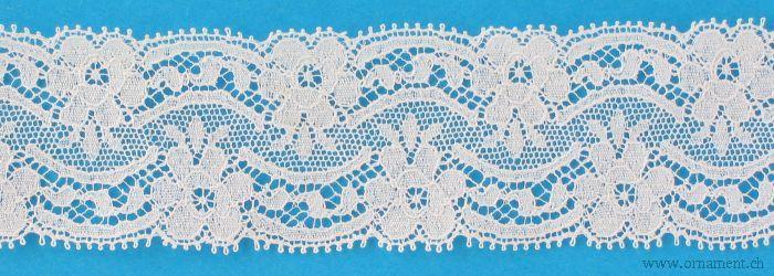 Embroidered Tull Cotton Trim #14