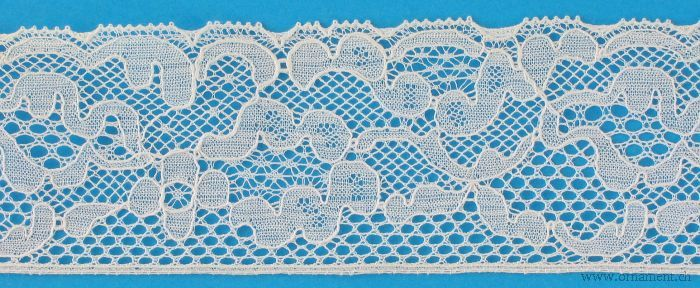Embroidered Tull Cotton Trim #15