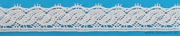 Embroidered Cotton Trim #28