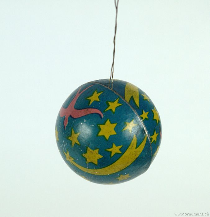Ball Candycontainer with Stars