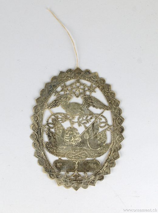 Medallion with Eagle and Lion