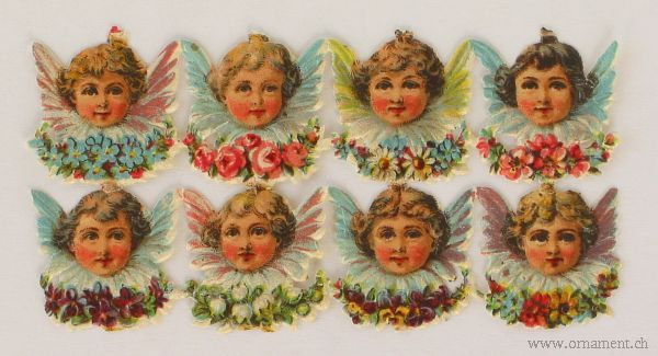 Eight Angel Heads (Sheet)