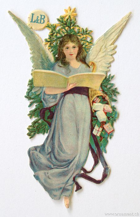 Angel with Songbook (Scrap)