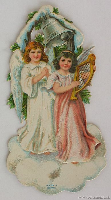 Two Angels with Bell
