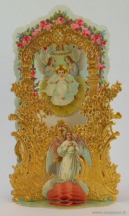 Folding Card with Angels