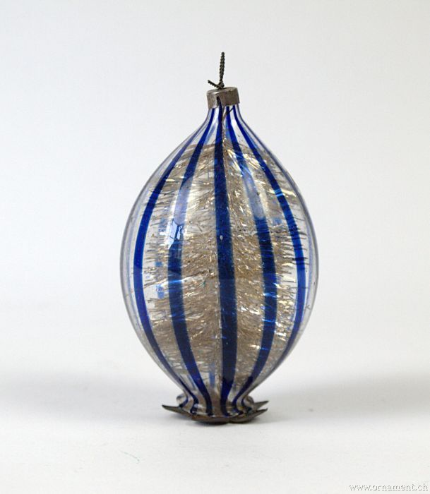 Thread Glass Ornament (Art Deco)