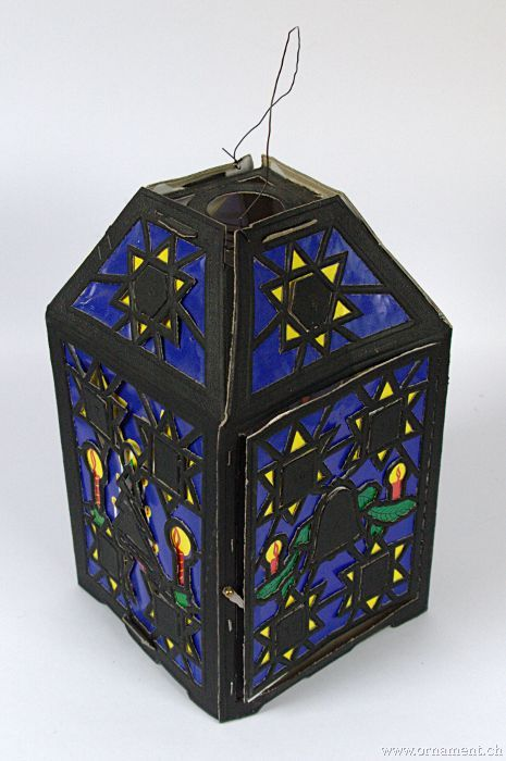 Erzgebirge Lantern as an Advent Calendar