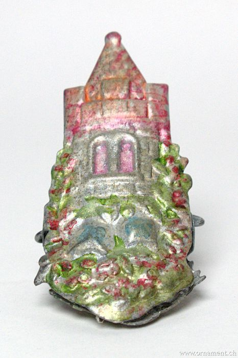 Clip-on Candleholder with Castle