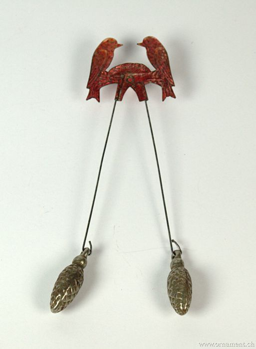 Pendulum Candleholder with Birds
