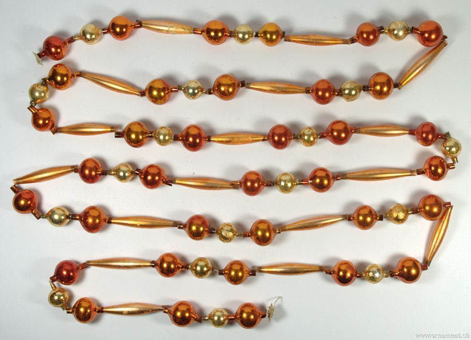 Golden Glass Beads Chain