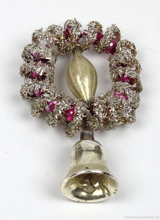 Tinsel Ornament with Bell
