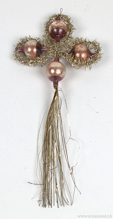 Tinsel Ornament with Tail