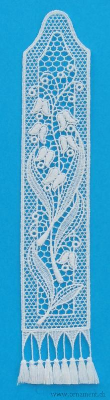 Bookmark with Lily of the Valley