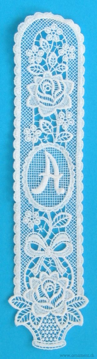 Bookmark with Monogram