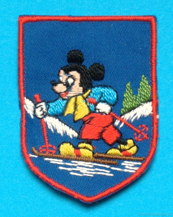 Mickey Mouse on Ski