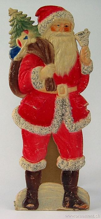 Santa Diecut as Display Stand