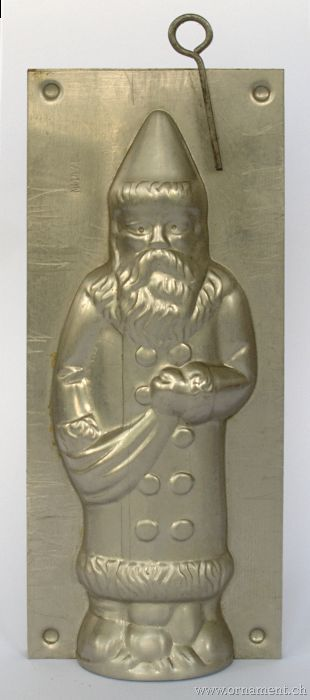 Saint Nicholas Chocolate Mold