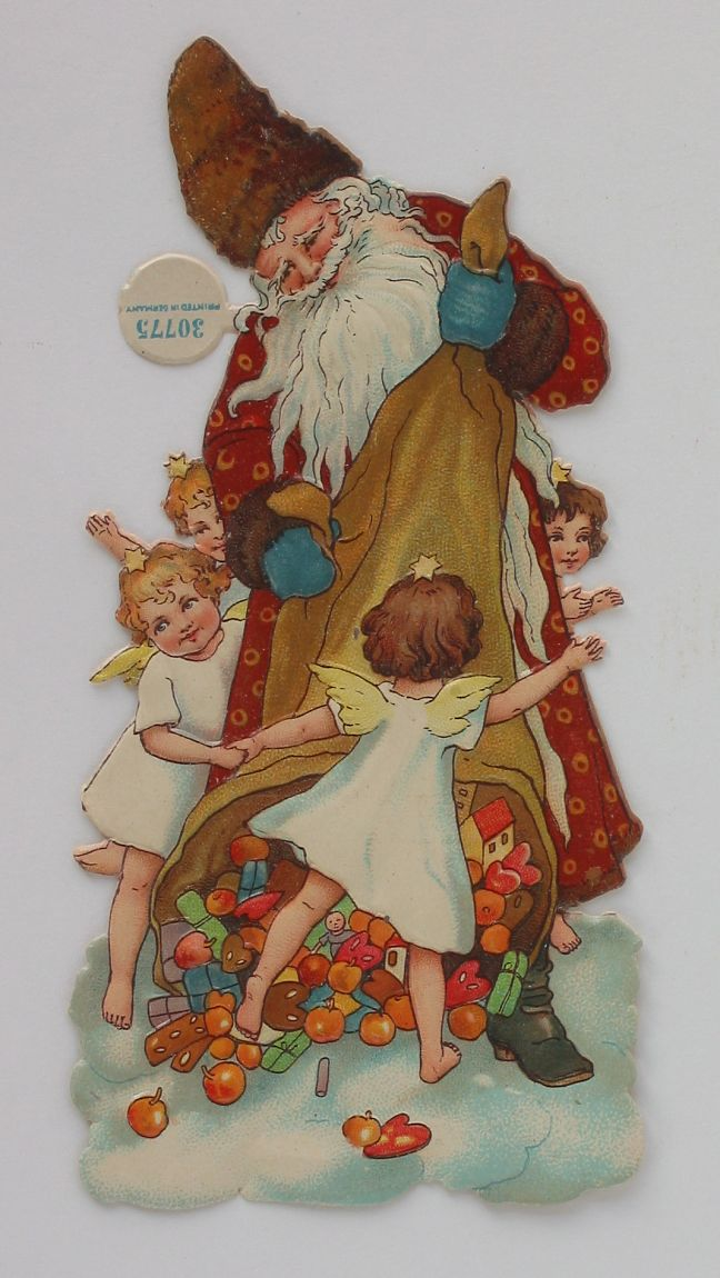 Santa with Angel Round Dance