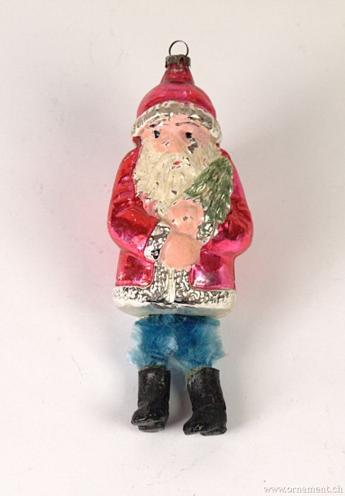 Santa with Chenille Legs