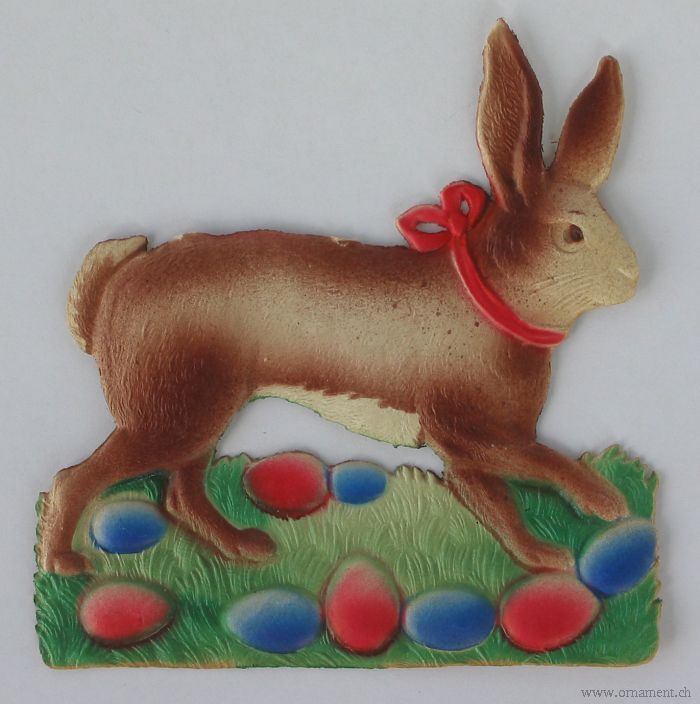 Small Easter Bunny Die Cut