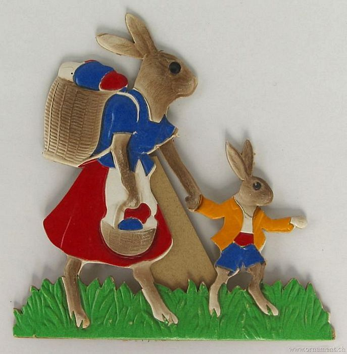 Easter Bunnies Die Cut