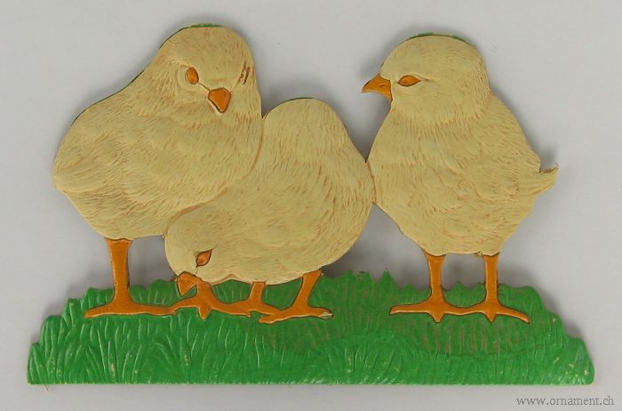 Easter Chicks Die Cut