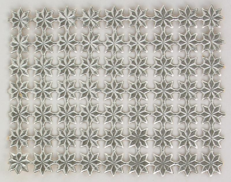 Sheet with Silver Dresden Stars