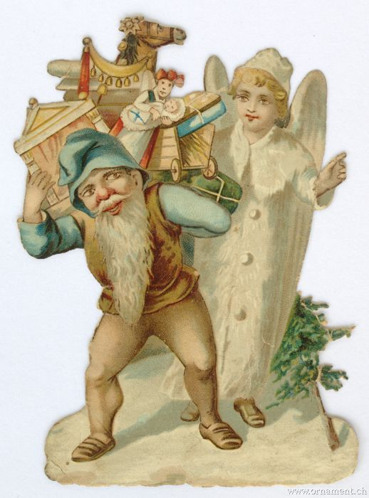 Angel with Dwarf and Toys
