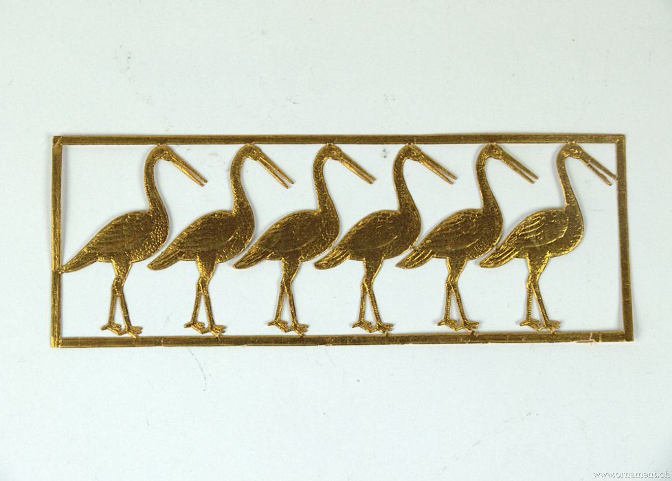 Sheet with Storks