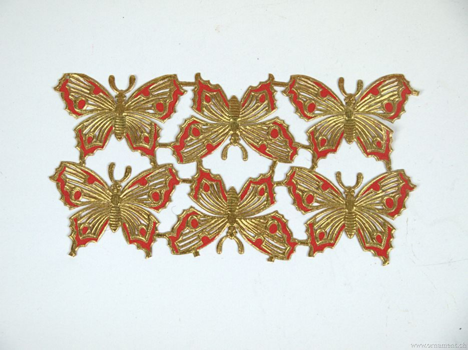 Sheet with Four Butterflies
