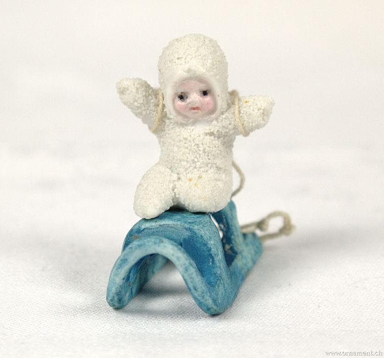 Snow Baby on Sleigh
