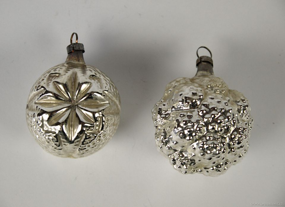 Lot of Silver Ornaments