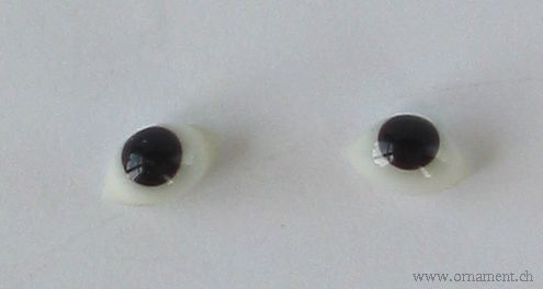 Pair of Glass Eyes (for Repairs)