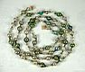 Bicolored Glass Beads Chain
