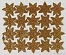 Sheet with Dresden Stars