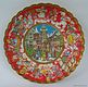Christmas Cookie Plate with <i>Christkindl</i> Market